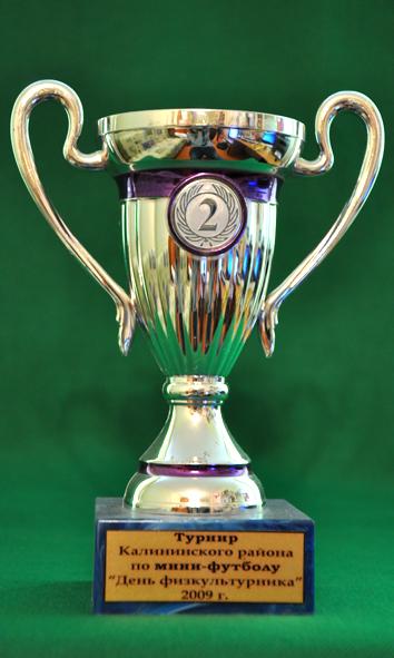 2 место Турнир по мини-футболу среди мужских команд, посвященный Дню физкультурника
