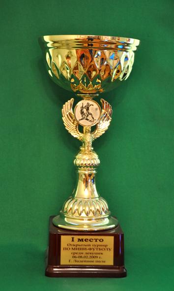 1 место Чемпионат Ленинградской области по мини-футболу среди женских команд