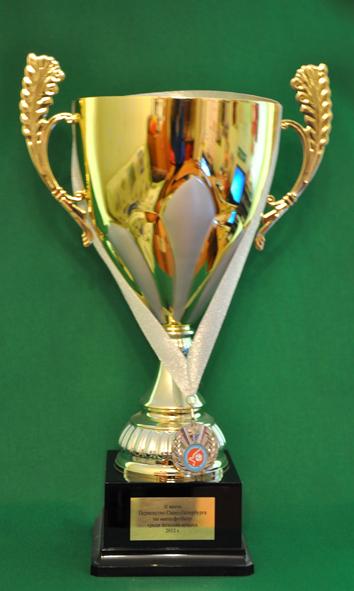 2 место Чемпионат Санкт-Петербурга по мини-футболу среди женских команд